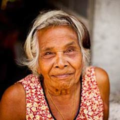 Elderly Slum Resident