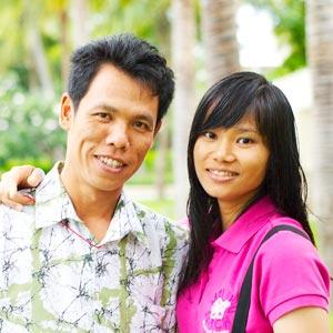 Arun & Pang Phummarin