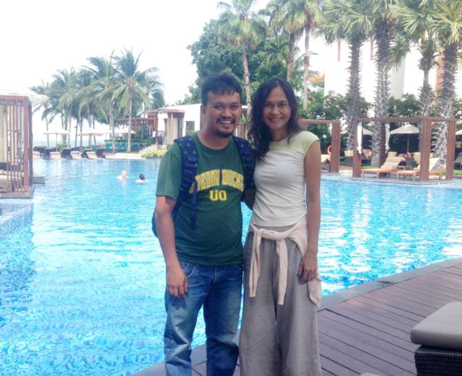 Thaksin & Kwan Jitkhong